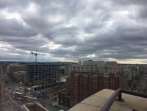ландшафт политического шторма в Вашингтоне Стоковые Фотографии RF