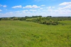 ландшафт поля Стоковое Изображение RF