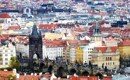 Ландшафт Праги стоковые фото