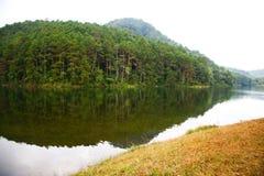 Ландшафт природы в угрызении Oung стоковое фото