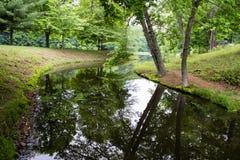 Ландшафт природы парка штата Огайо сценарный Стоковые Изображения RF
