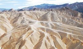 Ландшафт пункта Zabriskie, Death Valley стоковые изображения rf