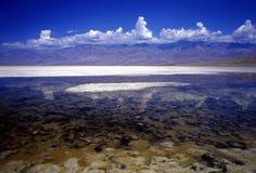 ландшафт пустыни облаков Стоковая Фотография