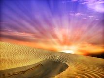 ландшафт пустыни Стоковые Фото