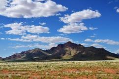 Ландшафт пустыни Namib, Намибия, Африка Стоковые Изображения