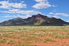 Ландшафт пустыни Namib, Намибия, Африка Стоковое Изображение RF