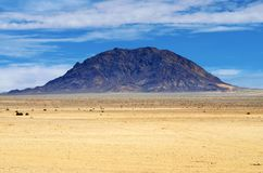 Ландшафт пустыни Namib, Намибия Стоковое Фото