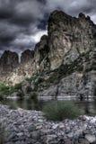 ландшафт пустыни riverine Стоковое фото RF