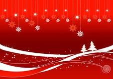 ландшафт рождества Стоковая Фотография RF