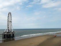 Ландшафт Северного моря Гаага, Голландия стоковое фото rf