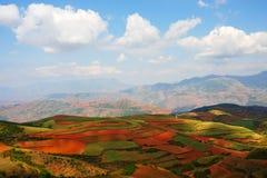 ландшафт сельской местности фарфора Стоковая Фотография