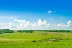 ландшафт сельской местности Стоковые Фотографии RF