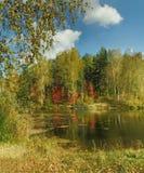 ландшафт сентябрь Стоковая Фотография RF