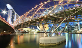 Ландшафт Сингапур урбанский Стоковые Изображения RF