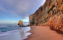 ландшафт скалы прибрежный Стоковое Изображение RF