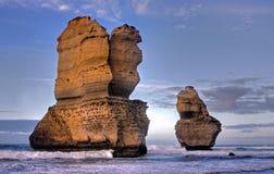 ландшафт скалы прибрежный Стоковое Фото