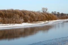Ландшафт страны зимы Стоковая Фотография