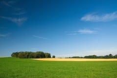 ландшафт страны Стоковая Фотография