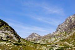 Ландшафт с горами Стоковые Изображения RF