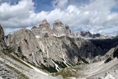 Ландшафт с горой, Италия Стоковое Фото