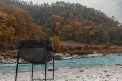 Ландшафт с ретушировать оранжевого teal 2 стоковая фотография rf