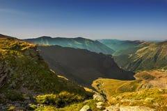 Ландшафт с тропкой горы Стоковое Фото