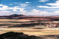 Ландшафт с холмами Стоковое фото RF
