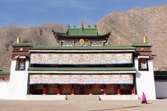 ландшафт Тибет стоковые фотографии rf