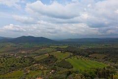 ландшафт Тоскана стоковое изображение rf