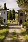 ландшафт Тоскана Стоковые Фото