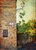 Ландшафт Тосканы Стоковые Изображения