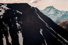 Ландшафт Урала горы ural Ландшафт России Стоковые Изображения