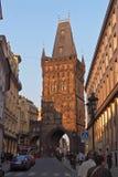 ландшафт урбанский Прага, Чешская Республика стоковые изображения rf