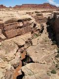 ландшафт утесистая Юта Стоковое фото RF