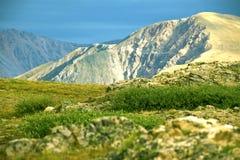 Ландшафт утесистых гор Стоковая Фотография RF