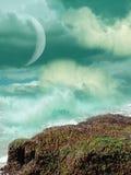 ландшафт фантазии Стоковое фото RF