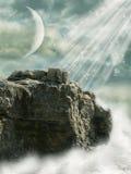ландшафт фантазии Стоковое Изображение
