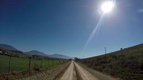 Ландшафт фермы в Южной Африке видеоматериал