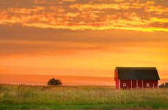 ландшафт фермы Стоковое фото RF