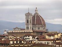 Ландшафт Флоренс Италии Стоковое Изображение