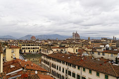 Ландшафт Флоренс Италии Стоковое Изображение RF