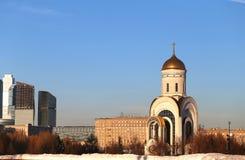 Ландшафт фото церков St. George Стоковое Изображение RF