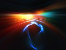 ландшафт фрактали Стоковая Фотография RF