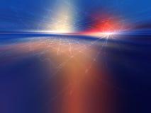 ландшафт фрактали Стоковое Изображение RF