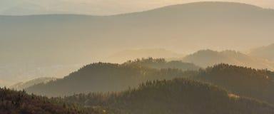 Ландшафт француза - Вогезы Стоковые Изображения RF