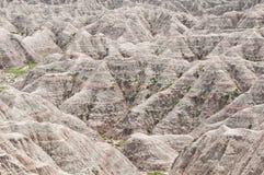 ландшафт характеристики неплодородных почв Стоковое Изображение RF