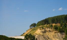ландшафт холма Стоковое Изображение