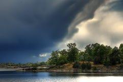 ландшафт Швеция стоковое изображение rf