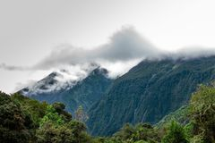 Ландшафт эквадорских гор стоковое изображение