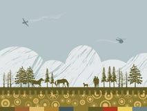 ландшафт элементов Стоковое Изображение
